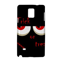 Halloween  Trick or treat  - monsters red eyes Samsung Galaxy Note 4 Hardshell Case