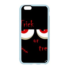 Halloween  Trick or treat  - monsters red eyes Apple Seamless iPhone 6/6S Case (Color)