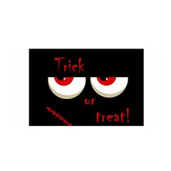 Halloween  Trick or treat  - monsters red eyes Satin Wrap