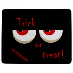 Halloween  Trick or treat  - monsters red eyes Jigsaw Puzzle Photo Stand (Rectangular)