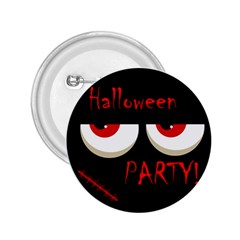 Halloween party - red eyes monster 2.25  Buttons