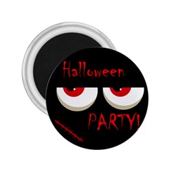 Halloween party - red eyes monster 2.25  Magnets