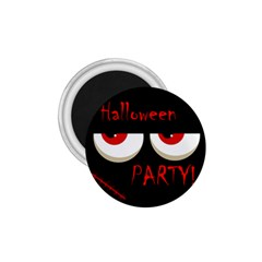 Halloween party - red eyes monster 1.75  Magnets