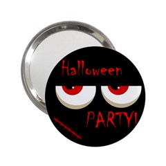 Halloween party - red eyes monster 2.25  Handbag Mirrors