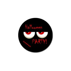 Halloween party - red eyes monster Golf Ball Marker (10 pack)