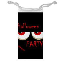 Halloween party - red eyes monster Jewelry Bags