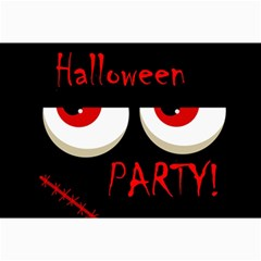 Halloween party - red eyes monster Collage Prints
