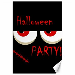 Halloween party - red eyes monster Canvas 20  x 30