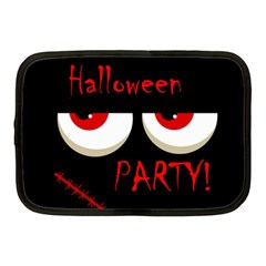 Halloween party - red eyes monster Netbook Case (Medium)