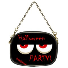 Halloween party - red eyes monster Chain Purses (Two Sides)
