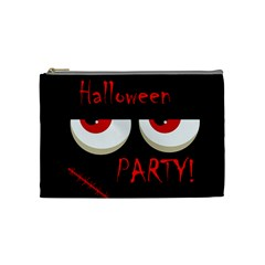 Halloween party - red eyes monster Cosmetic Bag (Medium)