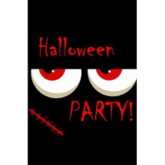Halloween party - red eyes monster 5.5  x 8.5  Notebooks