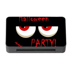 Halloween party - red eyes monster Memory Card Reader with CF