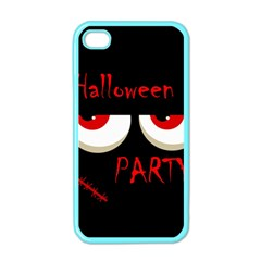 Halloween party - red eyes monster Apple iPhone 4 Case (Color)