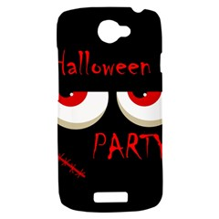 Halloween party - red eyes monster HTC One S Hardshell Case