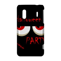 Halloween party - red eyes monster HTC Evo Design 4G/ Hero S Hardshell Case