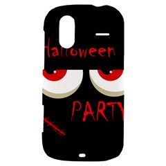 Halloween party - red eyes monster HTC Amaze 4G Hardshell Case