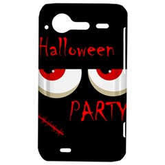 Halloween party - red eyes monster HTC Incredible S Hardshell Case