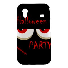 Halloween party - red eyes monster Samsung Galaxy Ace S5830 Hardshell Case