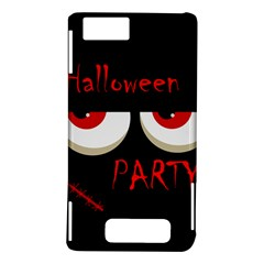 Halloween party - red eyes monster Motorola DROID X2