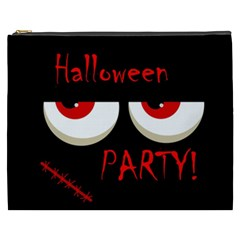 Halloween party - red eyes monster Cosmetic Bag (XXXL)