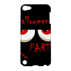 Halloween party - red eyes monster Apple iPod Touch 5 Hardshell Case