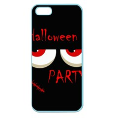 Halloween party - red eyes monster Apple Seamless iPhone 5 Case (Color)