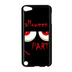 Halloween party - red eyes monster Apple iPod Touch 5 Case (Black)