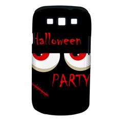 Halloween party - red eyes monster Samsung Galaxy S III Classic Hardshell Case (PC+Silicone)