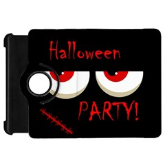 Halloween party - red eyes monster Kindle Fire HD Flip 360 Case