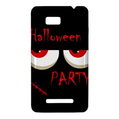 Halloween party - red eyes monster HTC One SU T528W Hardshell Case