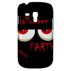 Halloween party - red eyes monster Samsung Galaxy S3 MINI I8190 Hardshell Case
