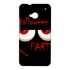 Halloween party - red eyes monster HTC One M7 Hardshell Case