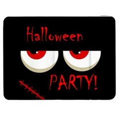 Halloween party - red eyes monster Samsung Galaxy Tab 7  P1000 Flip Case