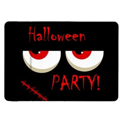 Halloween party - red eyes monster Samsung Galaxy Tab 8.9  P7300 Flip Case