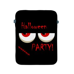 Halloween party - red eyes monster Apple iPad 2/3/4 Protective Soft Cases