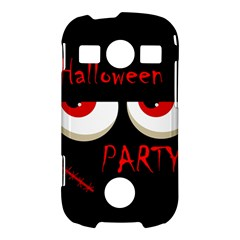 Halloween party - red eyes monster Samsung Galaxy S7710 Xcover 2 Hardshell Case