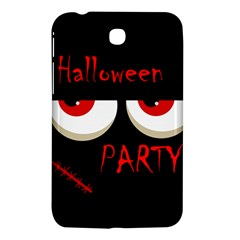 Halloween party - red eyes monster Samsung Galaxy Tab 3 (7 ) P3200 Hardshell Case