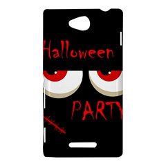 Halloween party - red eyes monster Sony Xperia C (S39H)