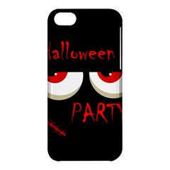 Halloween party - red eyes monster Apple iPhone 5C Hardshell Case