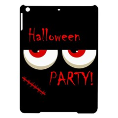 Halloween party - red eyes monster iPad Air Hardshell Cases