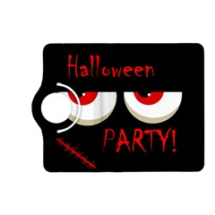 Halloween party - red eyes monster Kindle Fire HD (2013) Flip 360 Case