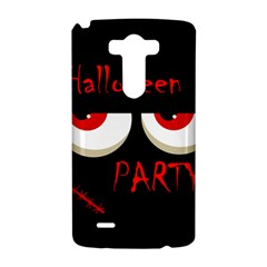 Halloween party - red eyes monster LG G3 Hardshell Case