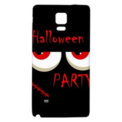 Halloween party - red eyes monster Galaxy Note 4 Back Case