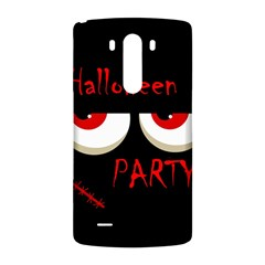 Halloween party - red eyes monster LG G3 Back Case