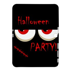 Halloween party - red eyes monster Samsung Galaxy Tab 4 (10.1 ) Hardshell Case