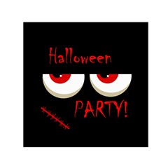 Halloween Party   Red Eyes Monster Small Satin Scarf (square)