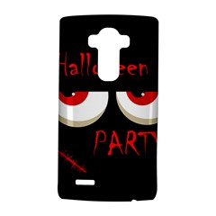 Halloween party - red eyes monster LG G4 Hardshell Case