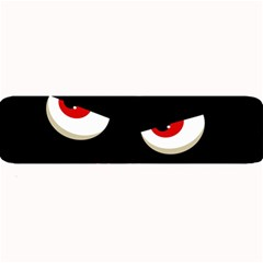 Happy Halloween - red eyes monster Large Bar Mats