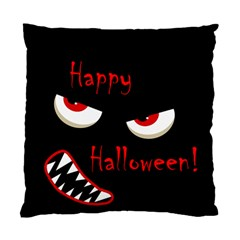 Happy Halloween - red eyes monster Standard Cushion Case (Two Sides)